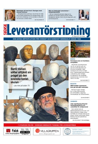 f1ac63a3b02d Svensk Leverantörstidning nr-1 2019 by Hexanova Media Group AB - issuu