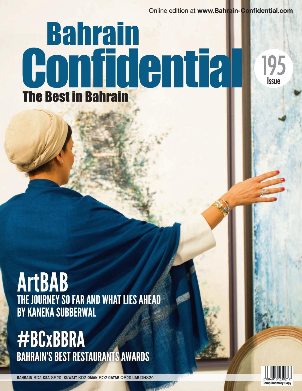 Bahrain Confidential - March 2019 by Arabian Magazines - issuu