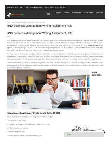 BTEC Locus Assignment Help