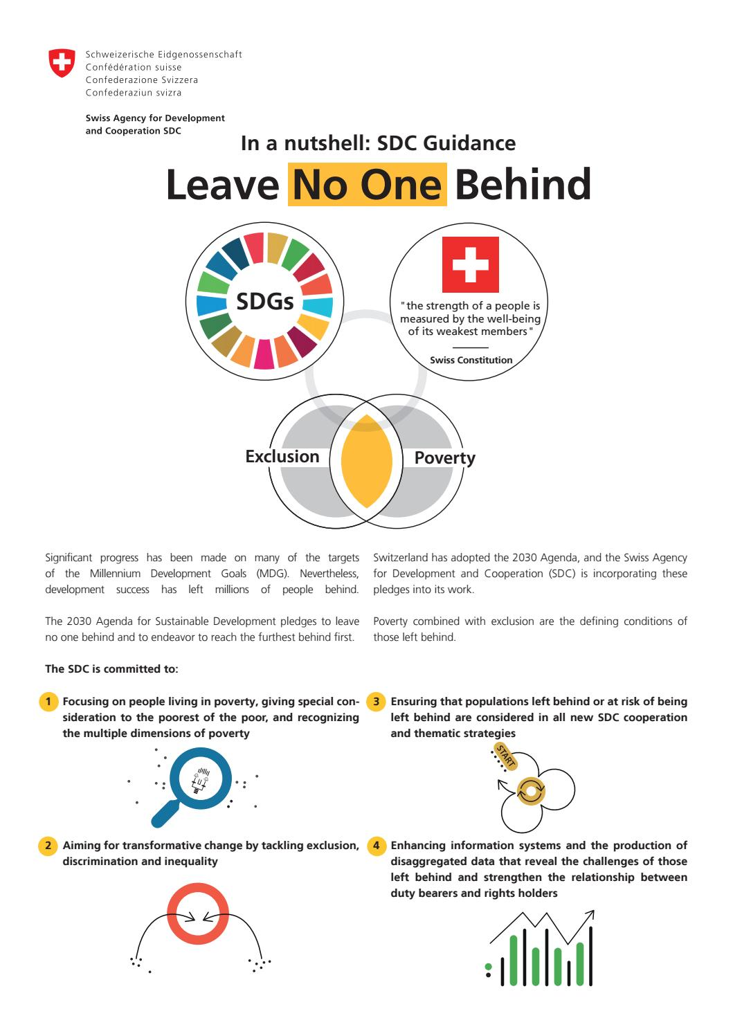 No Inequality Left Behind >> Leave No One Behind Flyer By Zoi Environment Network Issuu
