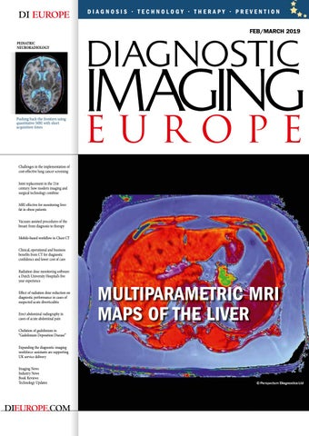 Diagnostic Imaging Europe FebMarch 2019 issue by Diagnostic