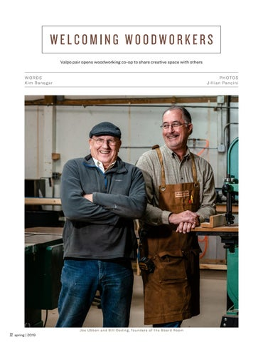 Page 22 of Welcoming Woodworkers