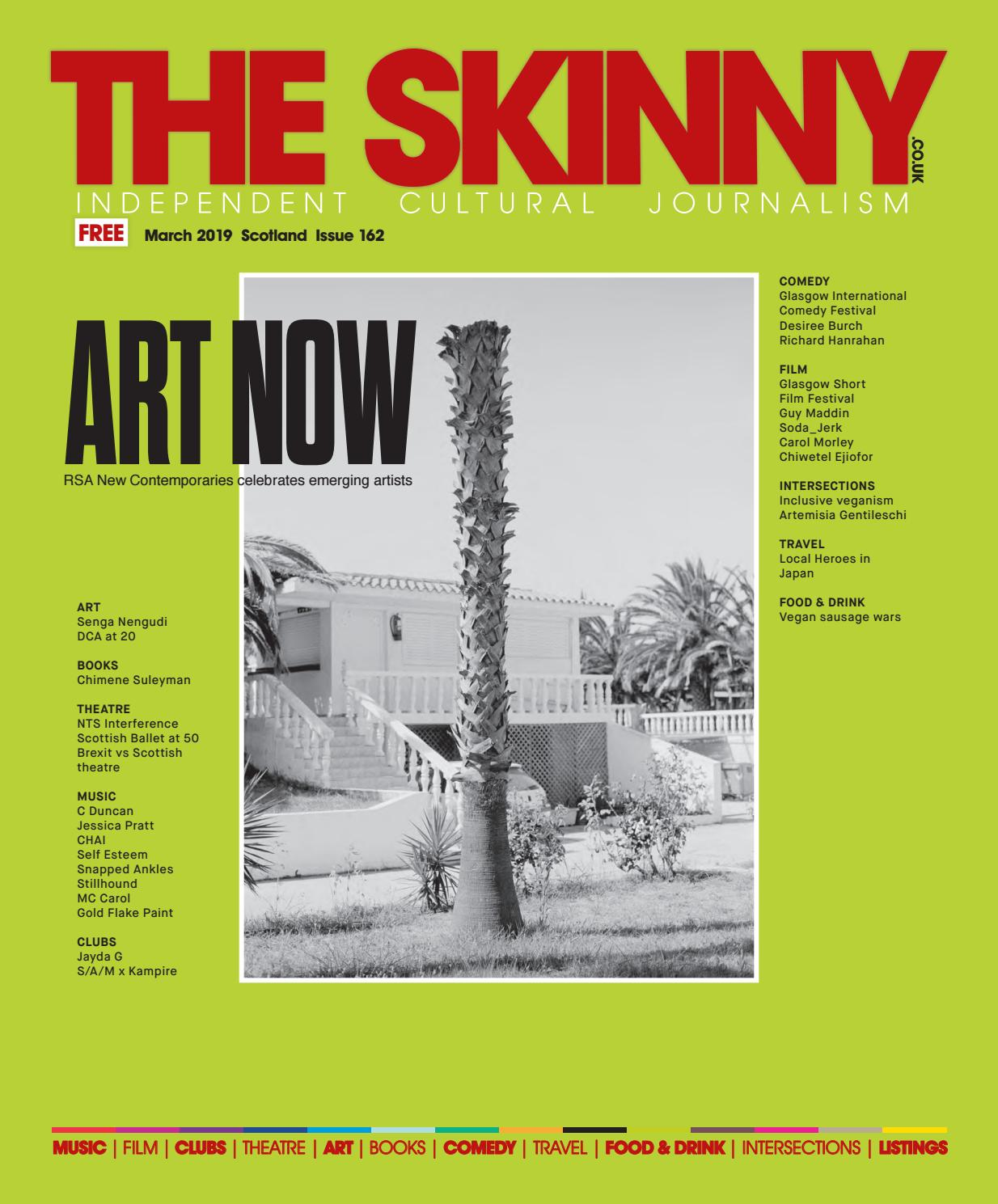 The Skinny March 2019 by The Skinny - issuu