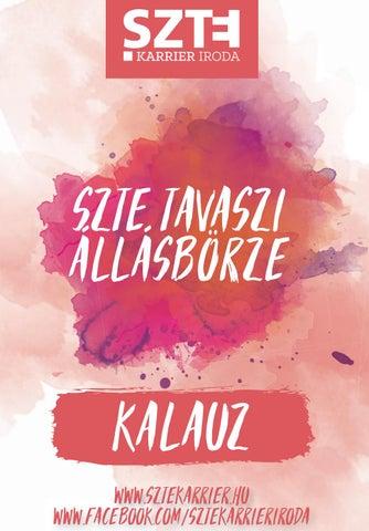 Állásbörze Kalauz - SZTE Tavaszi Állásbörze 2019 by SZTE Karrier ... 216c8dcbbb