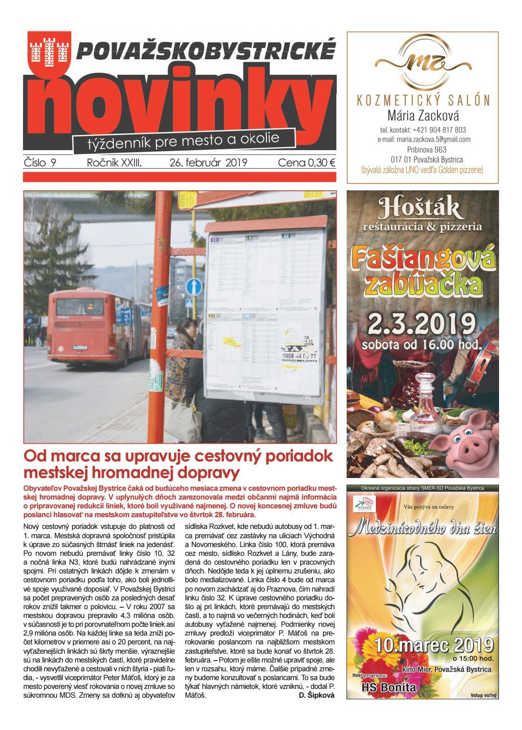 8bbc1921a3a3 Považskobystrické novinky č. 9 2019 by Považskobystrické novinky - issuu