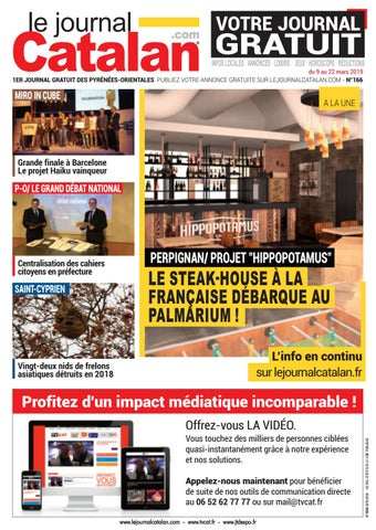 Le Journal Catalan N 166 1er Magazine Des Pyrenees Orientales By