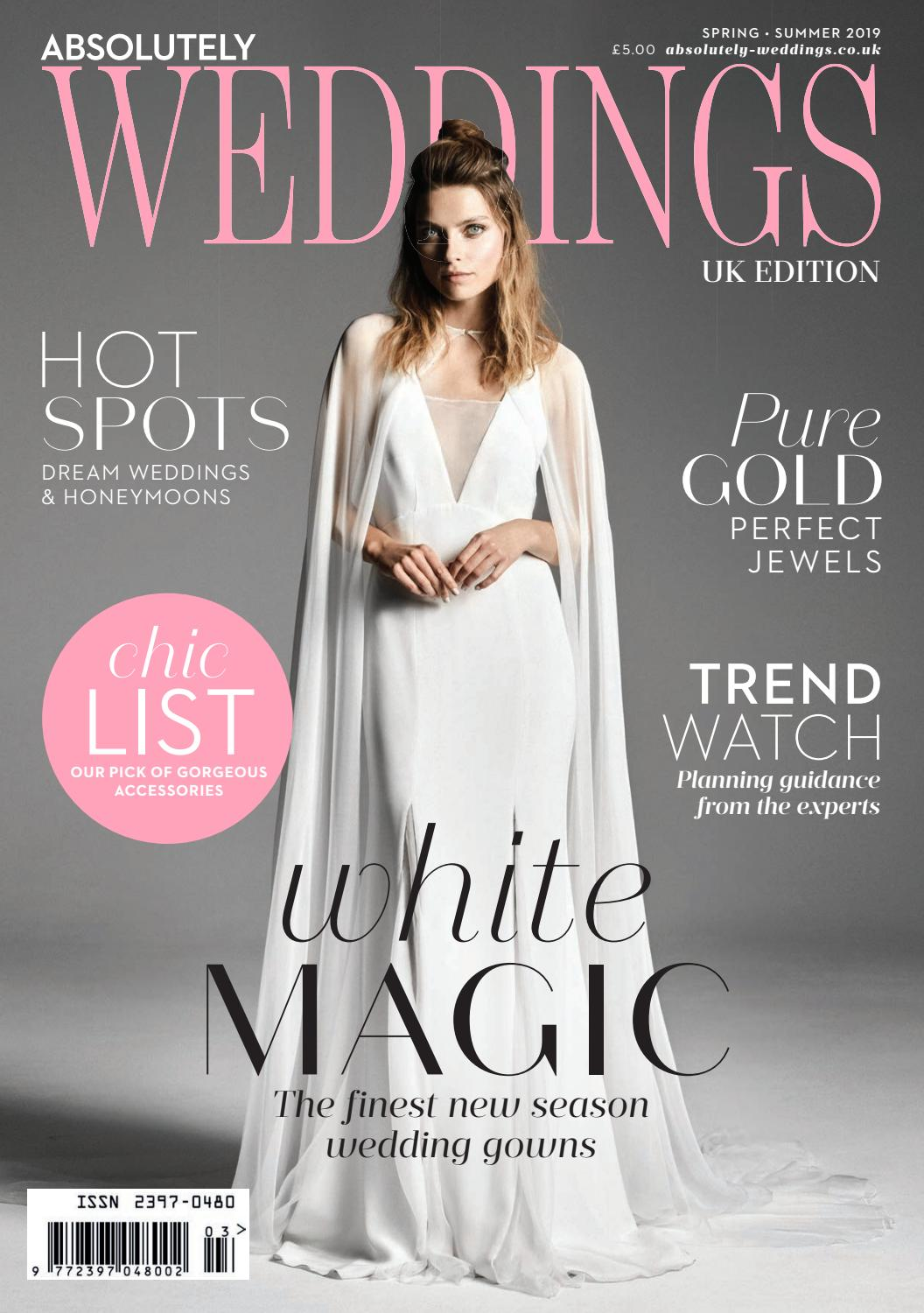 d28752382 Absolutely Weddings Spring Summer 2019 by Zest Media London - issuu