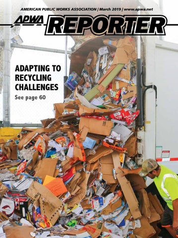 APWA Reporter, March 2019 issue by American Public Works
