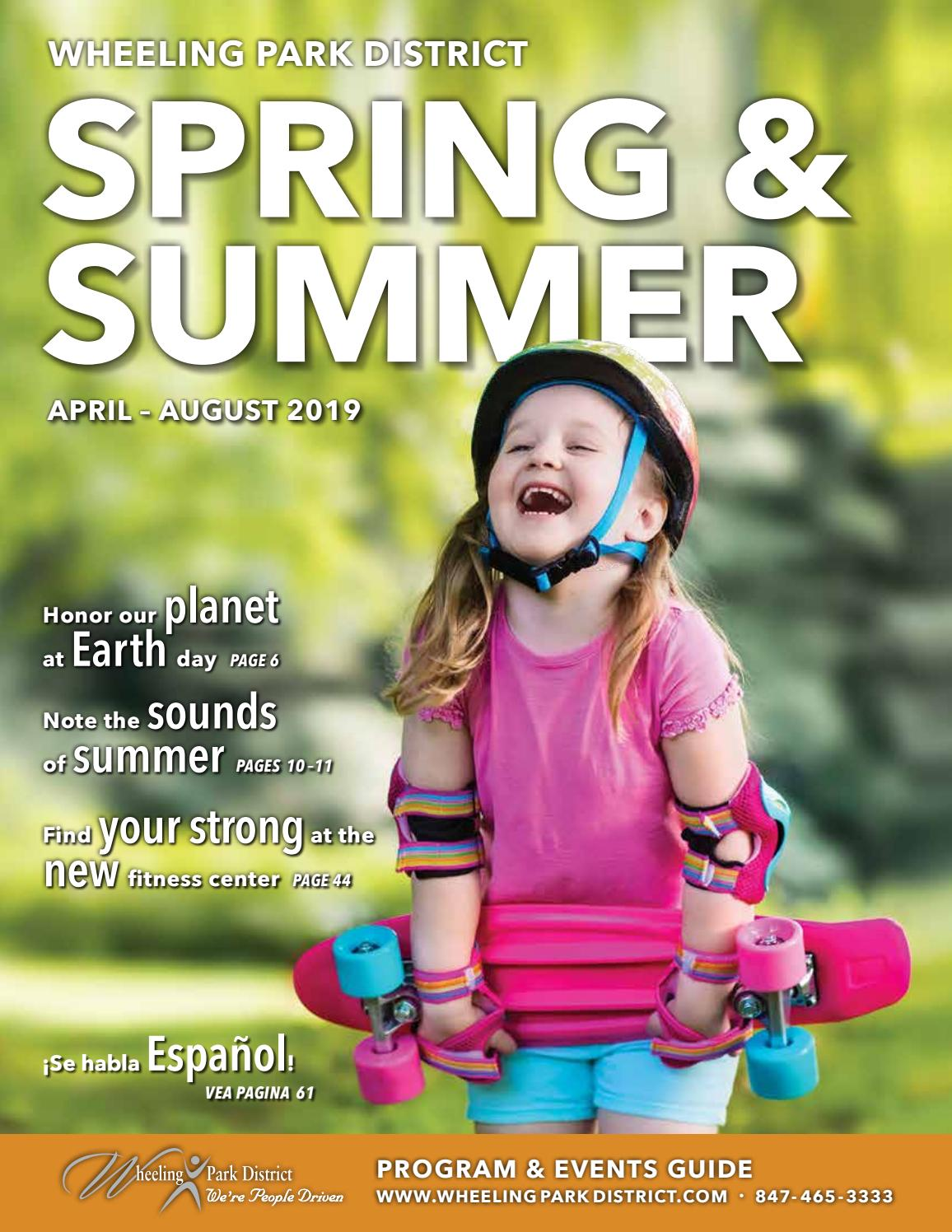 Spring & Summer Program and Events Guide by Wheeling Park District