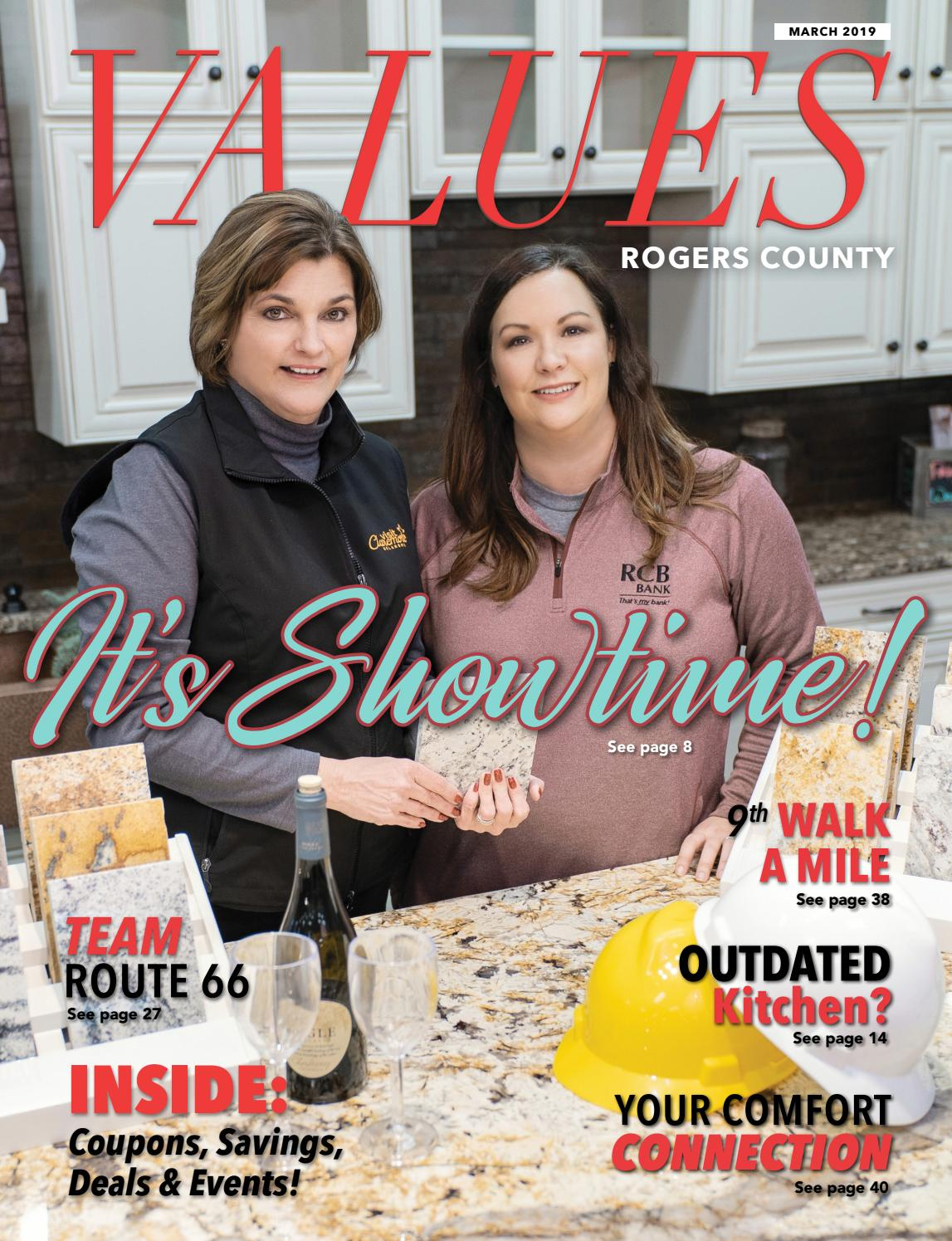 VALUES March 2019 Rogers County by Values, Inc  - issuu