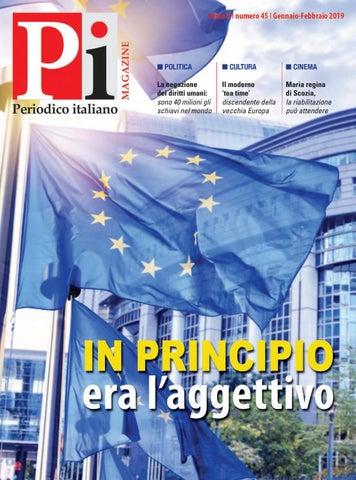 Periodico Italiano Magazine Gennaio Febbraio 2019 By
