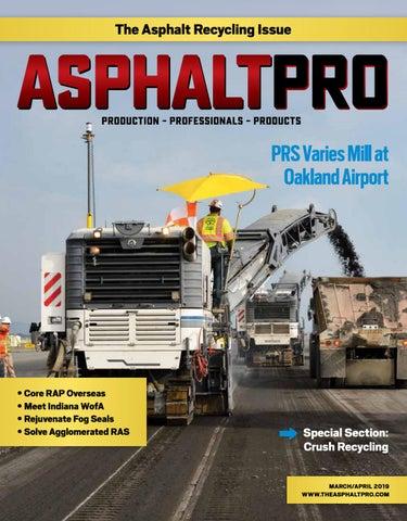 Asphalt Pro - March 2019 by Asphalt Pro LLC - issuu