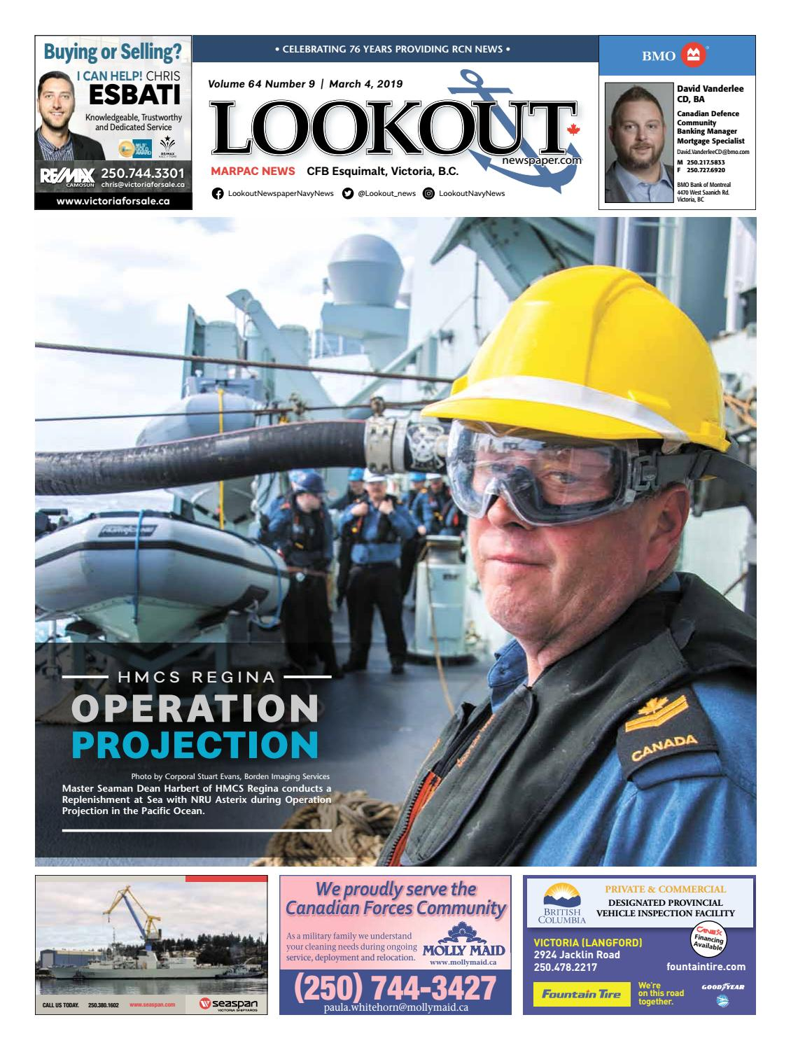 Lookout Newspaper, Issue 9, March 4, 2019 by Lookout