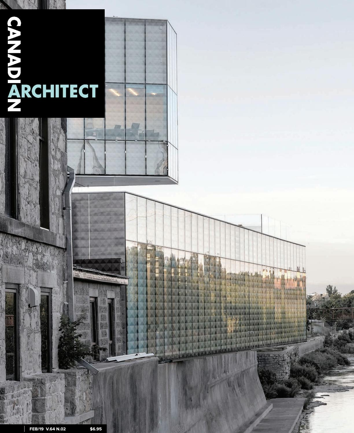 Echelle Bibliotheque Sur Rail canadian architect february 2019iq business media - issuu