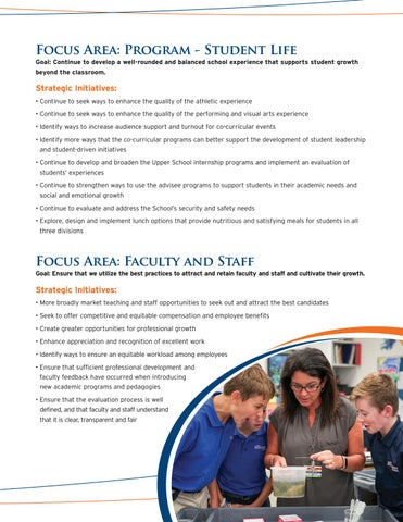 Page 5 of The Benjamin School Focus: Faculty and Staff