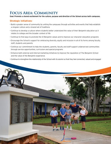 Page 6 of The Benjamin School Focus: Community