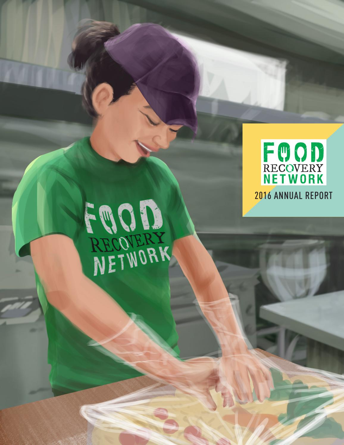 Food Recovery Networ Fy16 Annual Report By