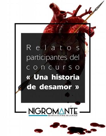 Relatos Del Concurso Una Historia De Desamor By Nigromante