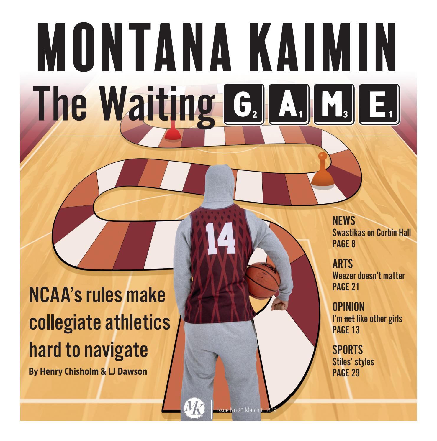 Montana Kaimin March 6 Issue No  20 by Montana Kaimin - issuu