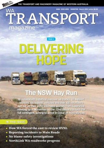 WA Transport Magazine March 2019 edition by Angry Chicken
