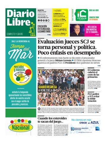 3aec93c848 MARTES 5 de Marzo de 2019 by Diario Libre - issuu