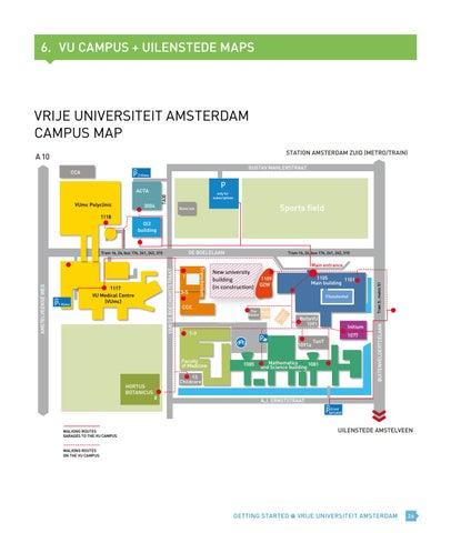 Getting Started Prospectus Vrije Universiteit Amsterdam By Vrije