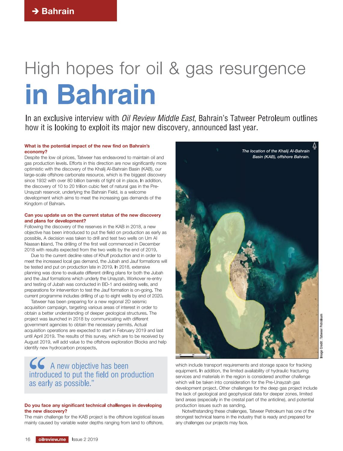 Oil Review Middle East Issue 2 2019