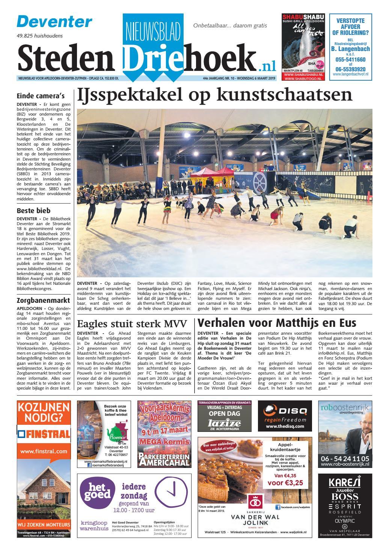 2855346a613 Nieuwsblad Stedendriehoek Deventer wk10-2019 by Uitgeverij Stedendriehoek -  issuu
