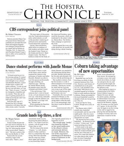 The Hofstra Chronicle October 9, 2018 by The Hofstra Chronicle - issuu