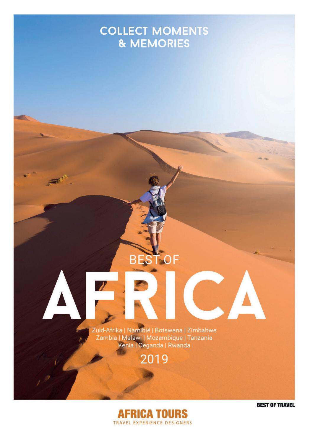 Best Of Africa 2019 Africa Tours Best Of Travel By Frank Ypma