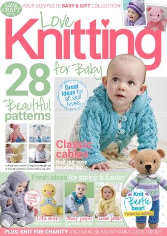 6be6ca8aec7e Love Knitting for Baby April 2019 Sampler by Immediate Media Co ...