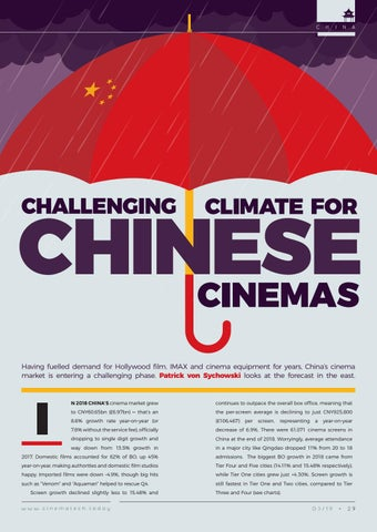 Page 29 of Challenging climate for Chinese cinemas