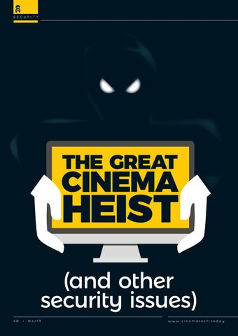 Page 40 of The Great Cinema Heist (and other security issues)