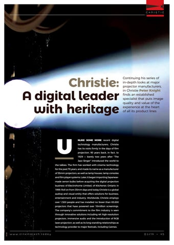 Page 45 of Christie: A digital leader with heritage