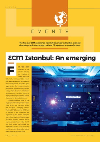 Page 50 of ECM Istanbul: An emerging success for all