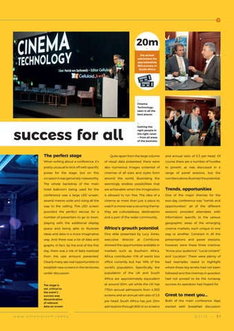 Page 51 of ECM Istanbul: An emerging success for all