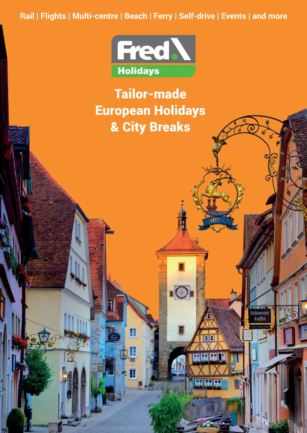 Fred Holidays 2019 Brochure Ponders By Fred Olsen Travel Issuu