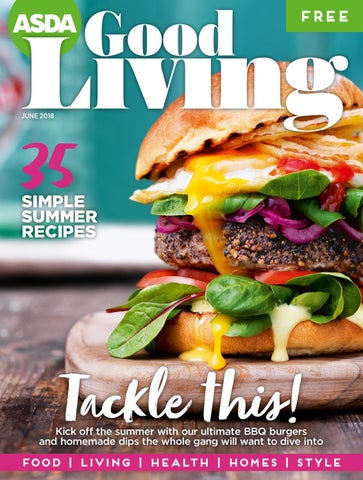 Asda Good Living Magazine June 2018 By Asda Issuu