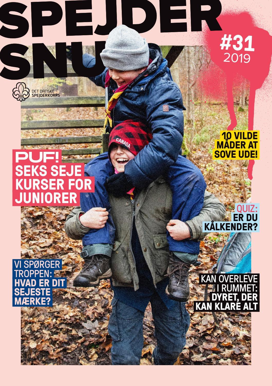 fdd171550 SpejderSnus #31 2019 by Det Danske Spejderkorps - issuu