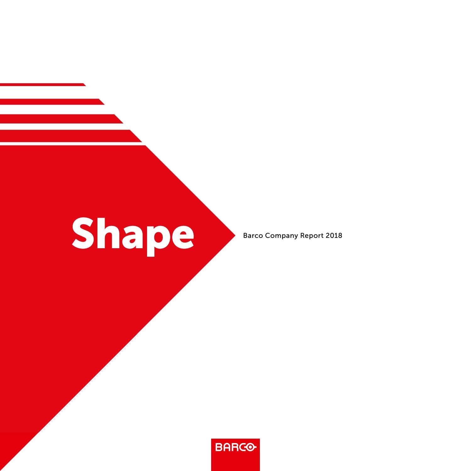 0c8ac4249d8 Barco Annual Report 2018 by Barco - issuu