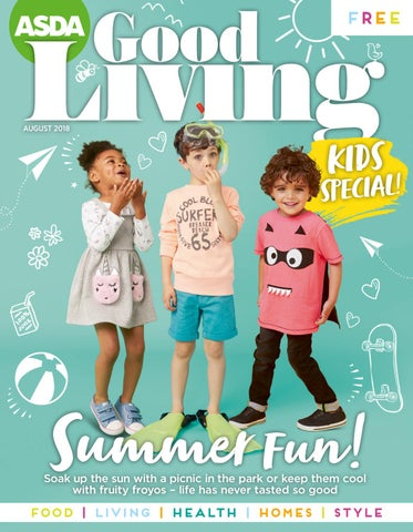 618b07b1d72 Asda Good Living Magazine August 2018 by Asda - issuu