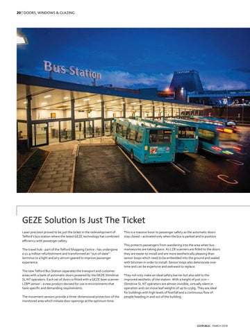 Page 20 of GEZE solution is just the ticket