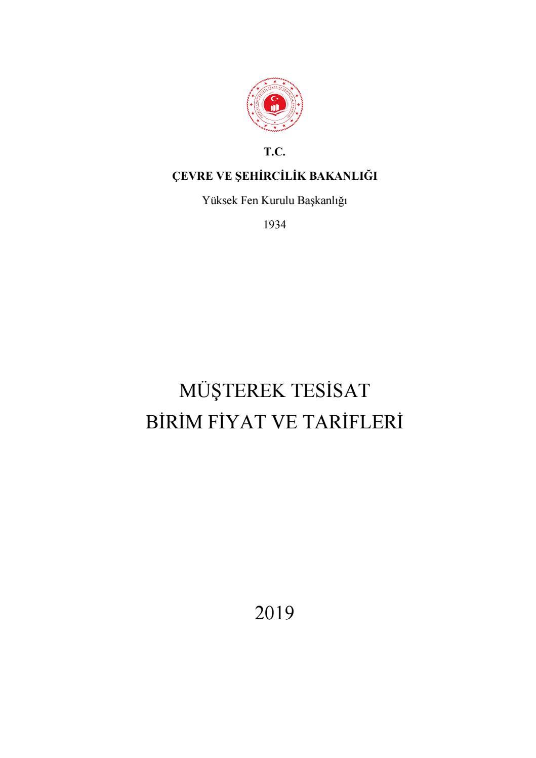 Turkce Birim Fiyat Bolum2 By Ozhan Idrisoglu Issuu