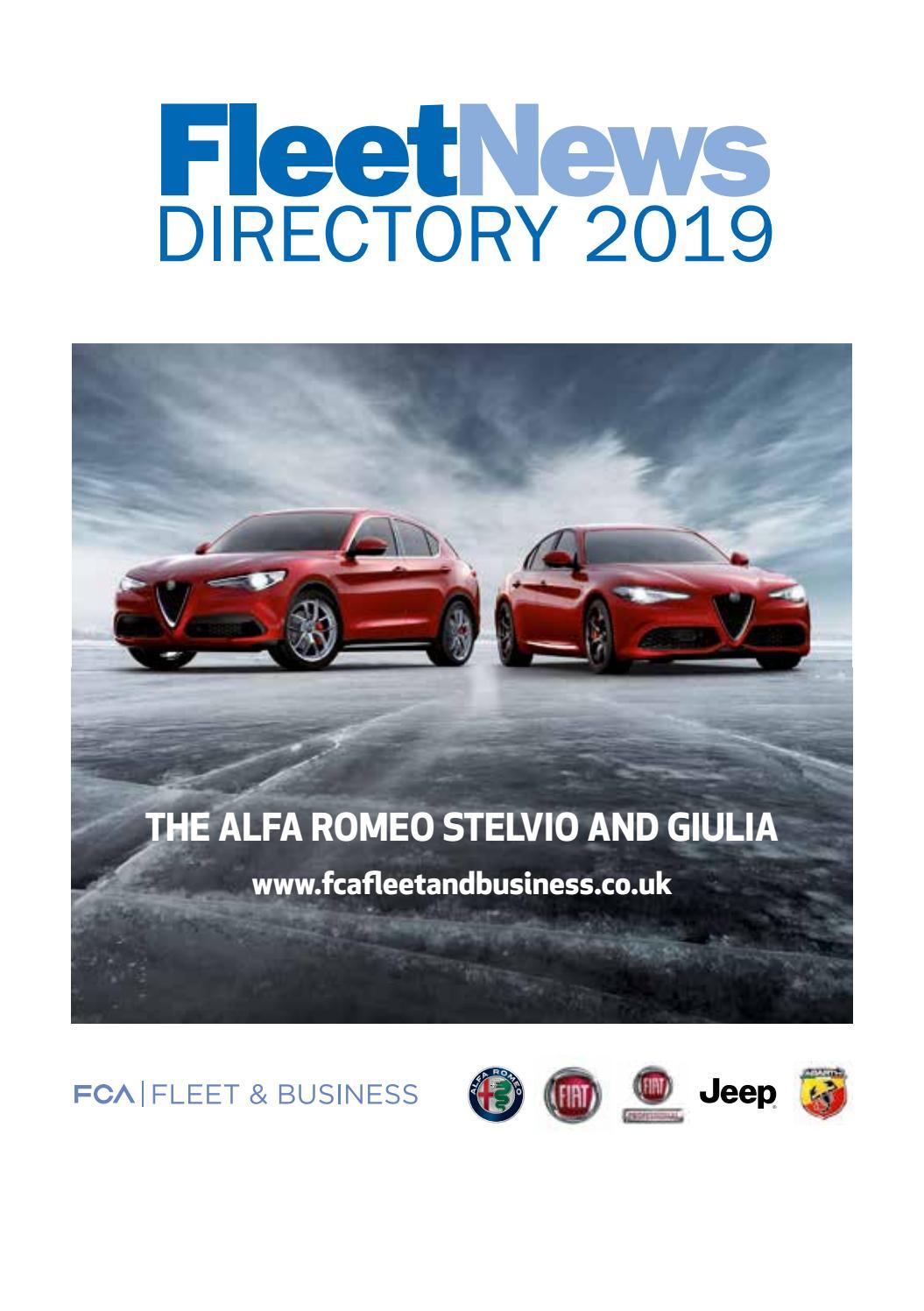 Fleet News Directory 20 by Fleet News   issuu