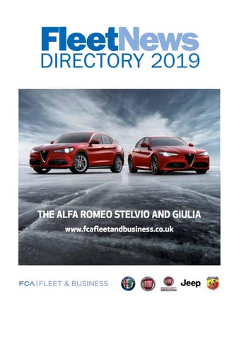 0fcaac65 Fleet News Directory 2019 by Fleet News - issuu