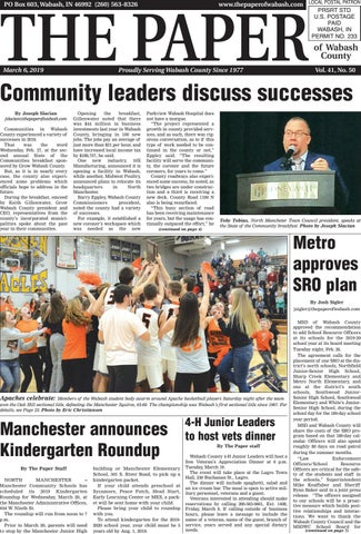 The Paper of Wabash County - March 6, 2019 Issue by The Paper of