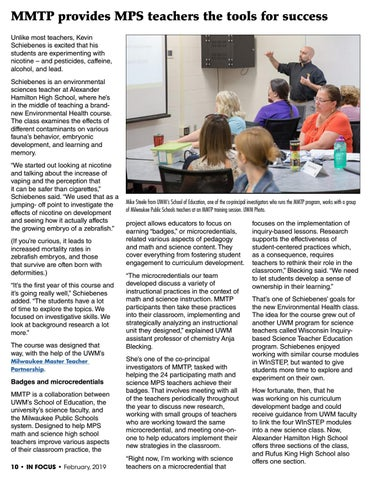 Page 10 of MMTP provides MPS teachers the tools for success