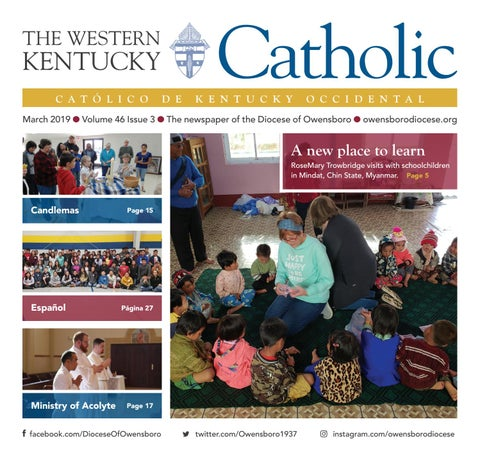The Western Kentucky Catholic March 2019 by Diocese of Owensboro - issuu