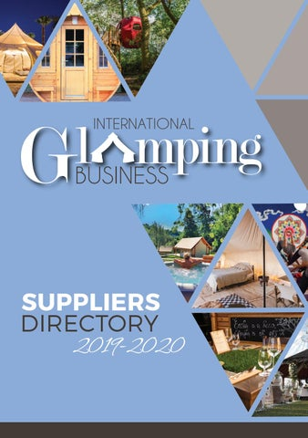 International Glamping Business Suppliers Directory 2019 By