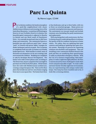 Page 8 of Parc La Quinta By Marne Logan, CCAM